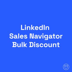 Discount LinkedIn Sales Navigator